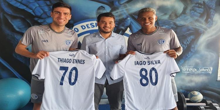 Iago e Thiago Ennes conquistam marca importante no Confiança
