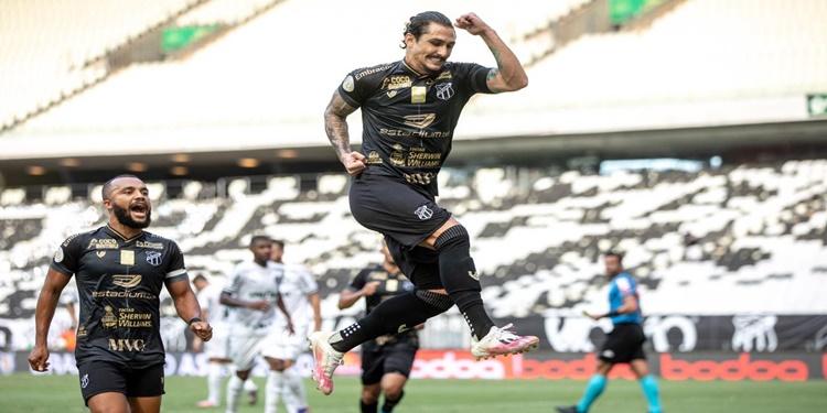 Ceará derrota o Palmeiras e conquista a segunda vitória consetiva