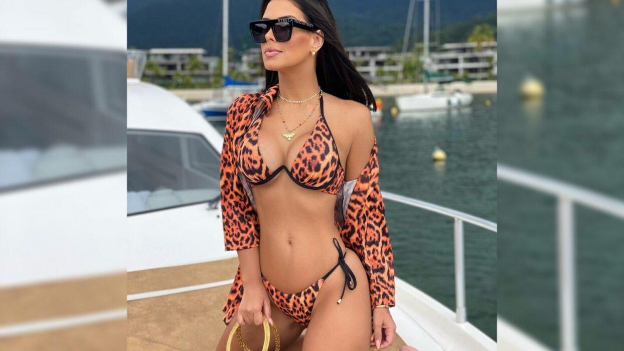 Ivy Moraes faz vídeo saindo de piscina e deixa fãs com