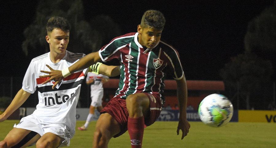 Sub-17| Fluminense empata com São Paulo e leva decisão para o Rio