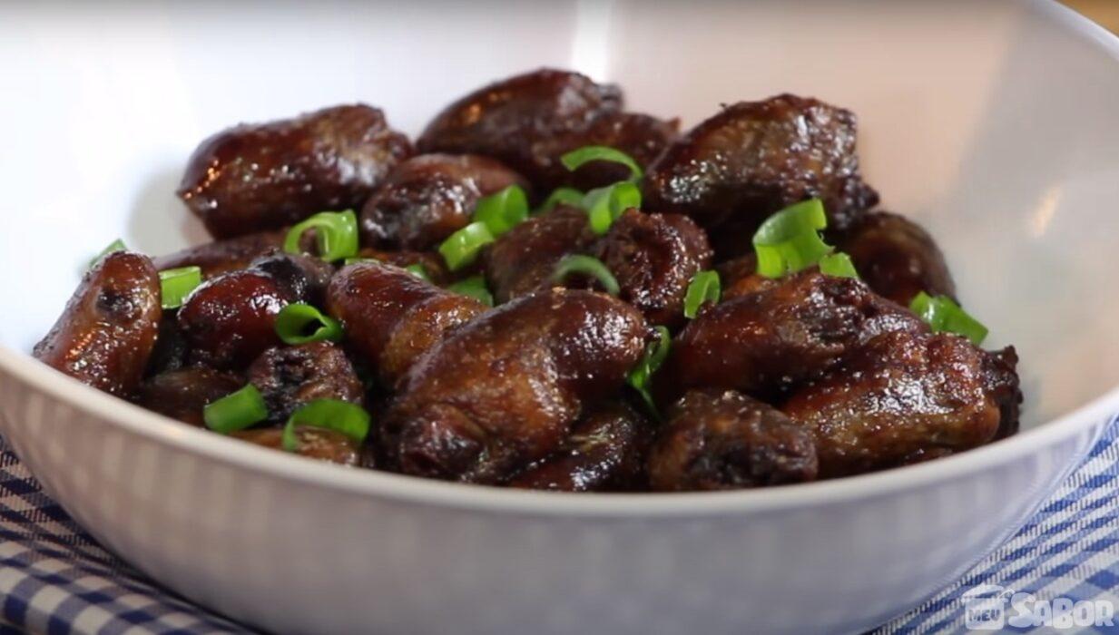 Sabia que dá para fazer um delicioso e maravilhoso Coraçãozinho de Galinha na sua Airfryer?