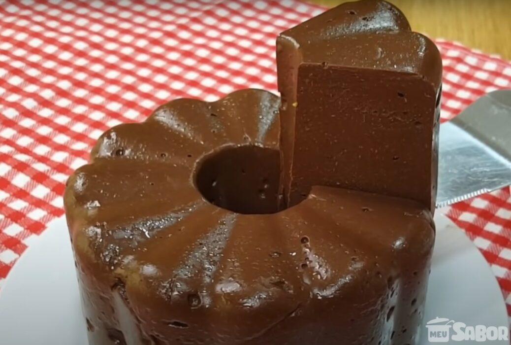 Pudim de chocolate com 3 Ingredientes, Low Carb, sem glúten, sem açúcar, sem ovo, sem leite.. ótimo para pessoas alérgicas🍮