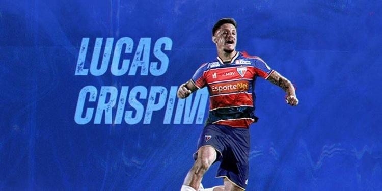 Fortaleza oficializa a contratação do jogador Lucas Crispim