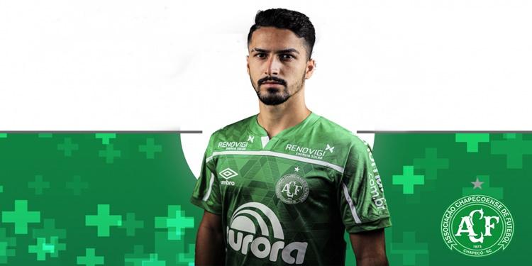 Brayan Vasconcelos é o novo reforço do Chapecoense