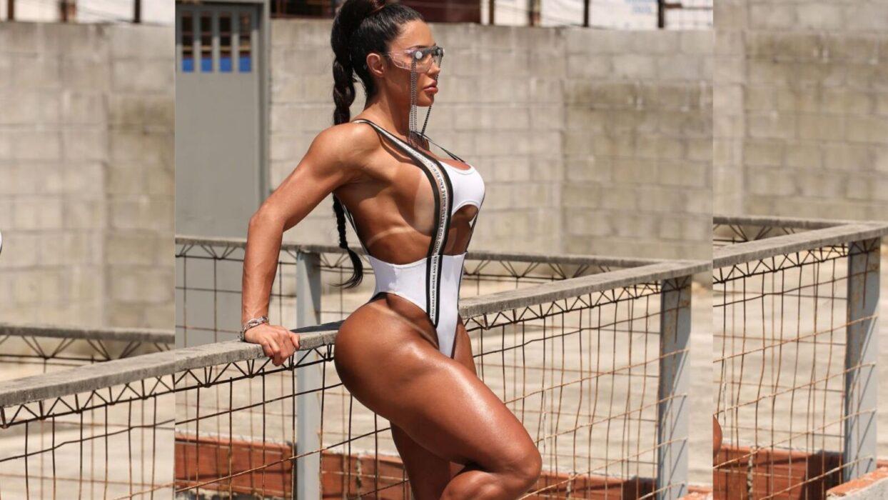Gracyanne Barbosa ostenta bronzeado de tirar o fôlego em ensaio quente