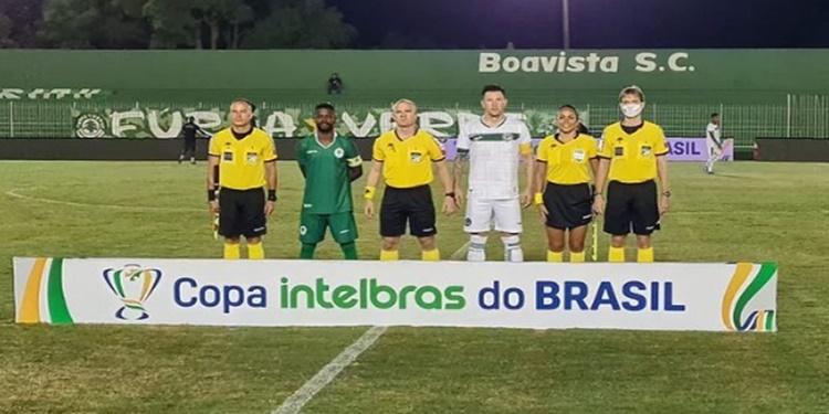 Em confronto eliminatório, Goiás é derrotado e se despede da Copa do Brasil 2021