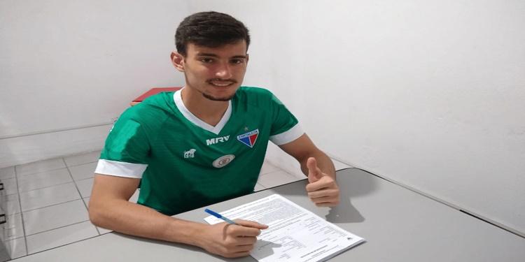 Goleiro Arthur é  a nova contratação do Fortaleza Sub - 20