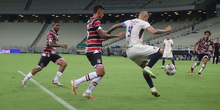 Em partida válida pela Copa do Nordeste Fortaleza perde e rompe invencibilidade