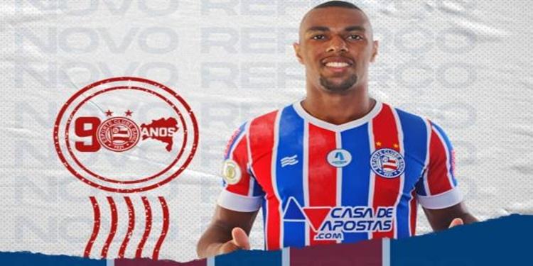 Zagueiro Luiz Otávio assina contrato com o Bahia