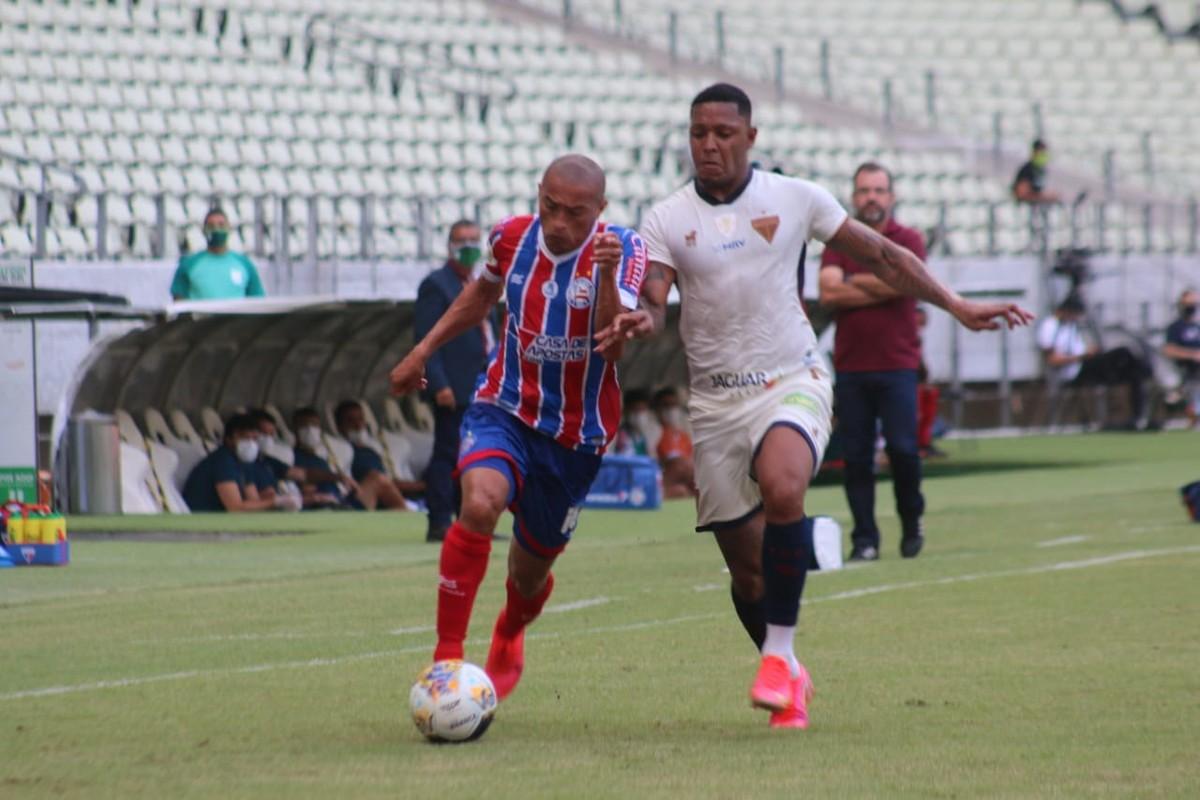 Bahia vence Atlético BA por 2 a 1 no estádio de Pituaçu