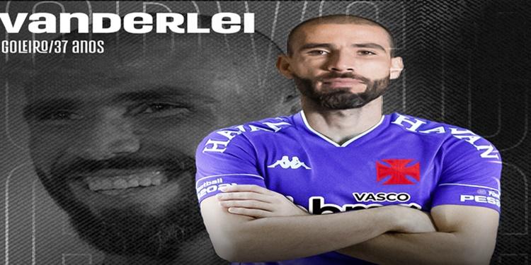 Vanderlei é o sexto reforço do Vasco para a temporada 2021