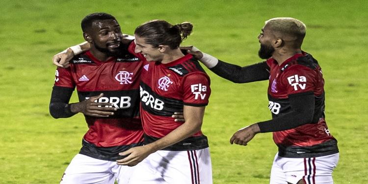 Flamengo derrota Madureira de 5 a 1 pelo Campeonato Carioca