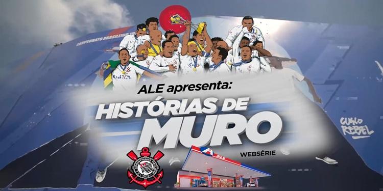 ALE Combustíveis apresenta websérie que retrata conquistas marcantes na trajetória do Corinthians