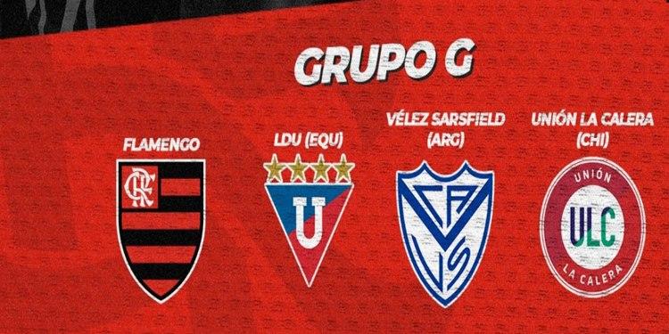 Flamengo conhece seus adversários na fase de grupos da Libertadores 2021