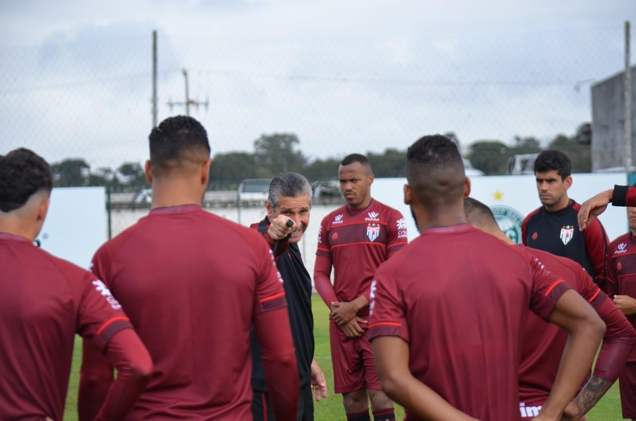 Atlético GO pronto para 2ª fase da Copa do Brasil