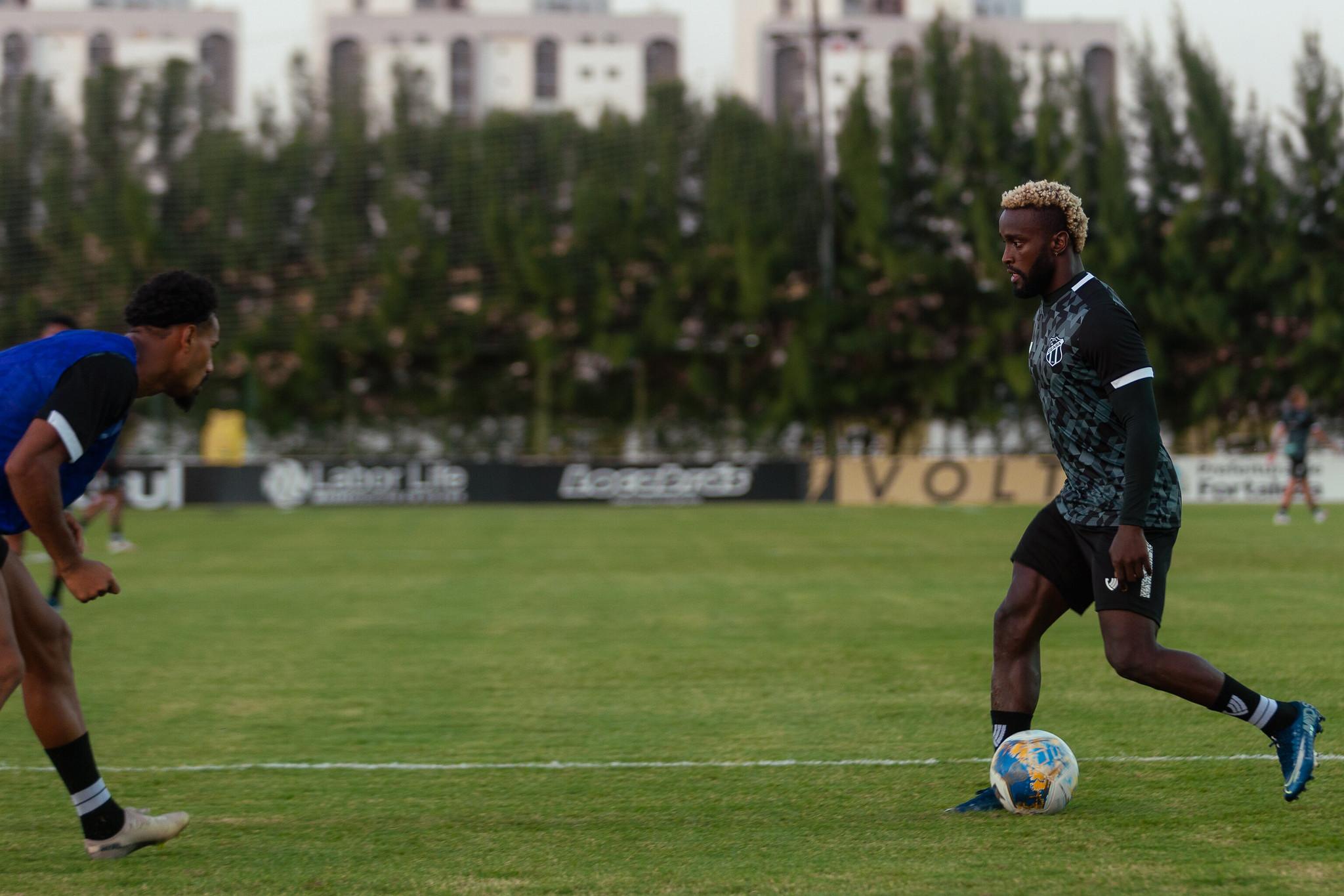 Ceará realizou treino tático, focado nas quartas de final do Nordestão
