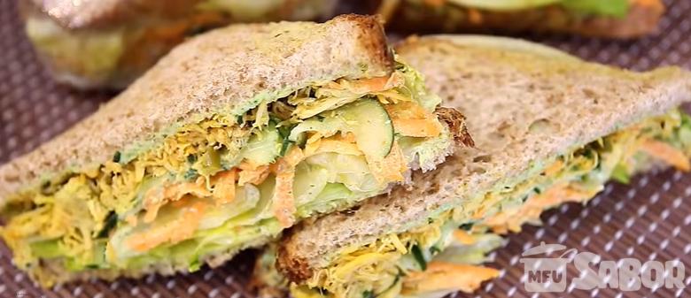 Prepare seu próprio sanduíche natural e nao fuja da  dieta no dia-a-dia!