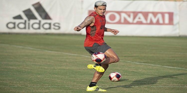 Flamengo encerra preparação para o jogo contra a Portuguesa