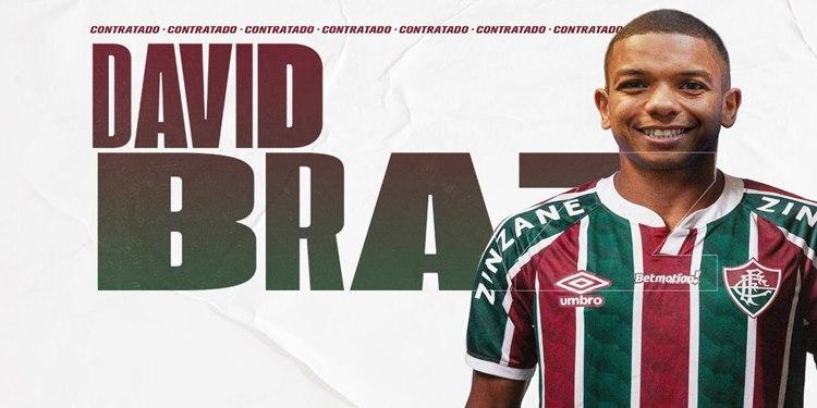 David Braz é anunciado como reforço do Fluminense