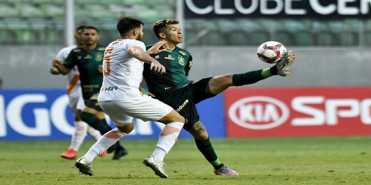 América domina o jogo e vence o Coimbra pelo Campeonato Mineiro