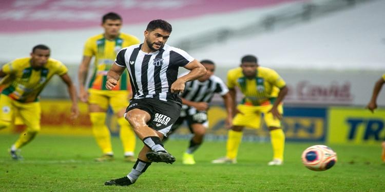 No retorno do estadual, Ceará empata com o Pacajus, na Arena Castelão