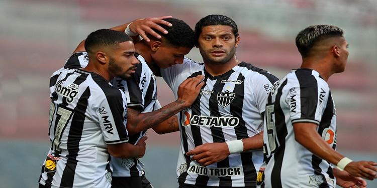 Atlético MG  duela visando a liderança na Copa Libertadores