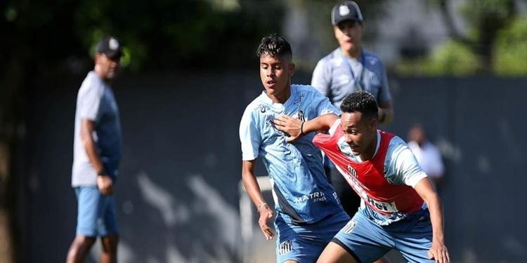 Sub-17 do Santos está pronto para estreiar fora de casa, no Brasileiro da categoria