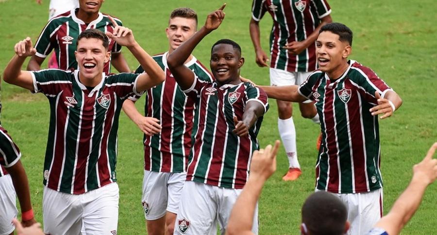 Sub-17 do Flu estreia com vitória no Brasileirão da categoria