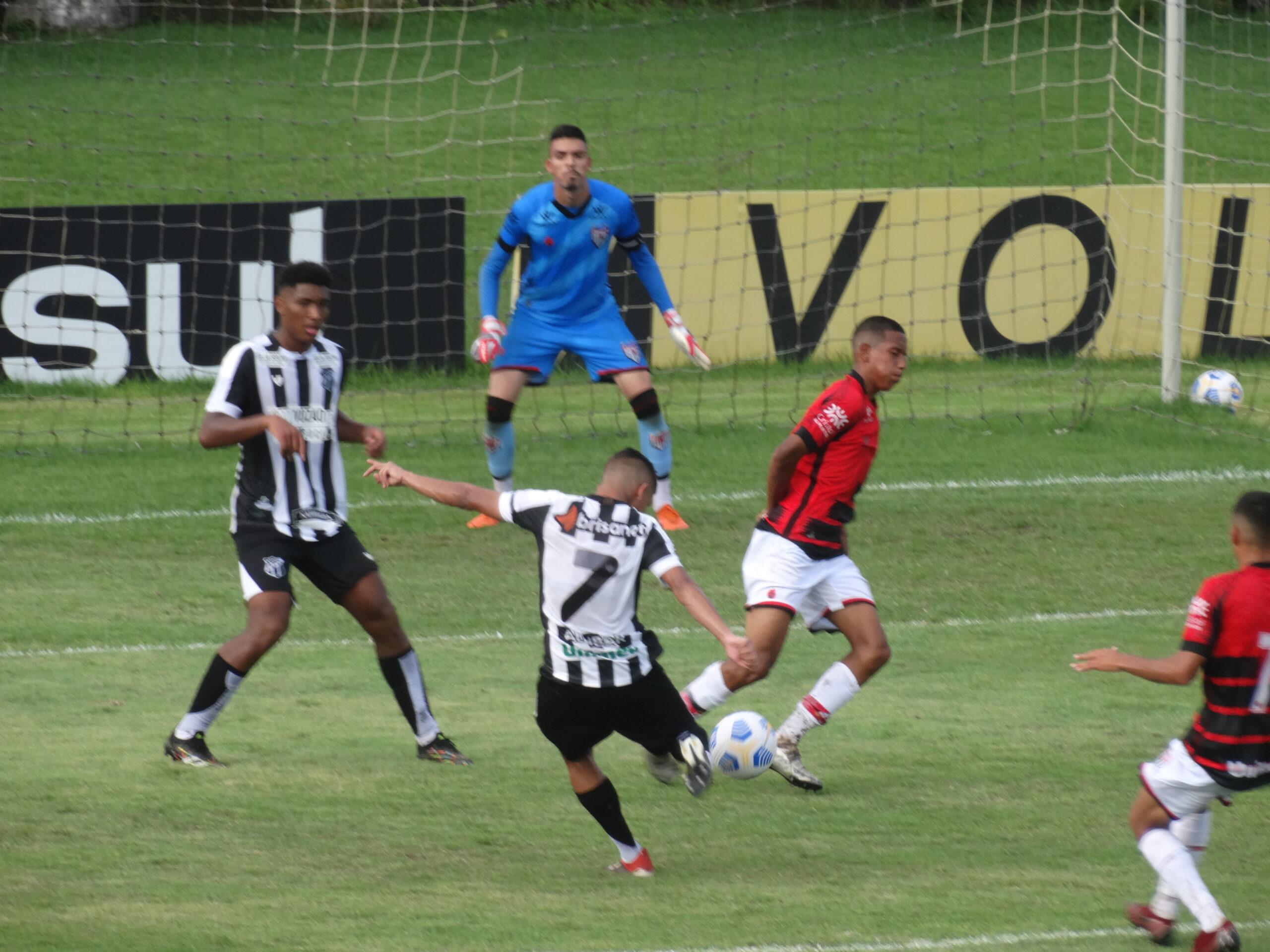 Sub-17: De virada, Ceará estreia com vitória pelo Campeonato Brasileiro contra o Atlético-GO