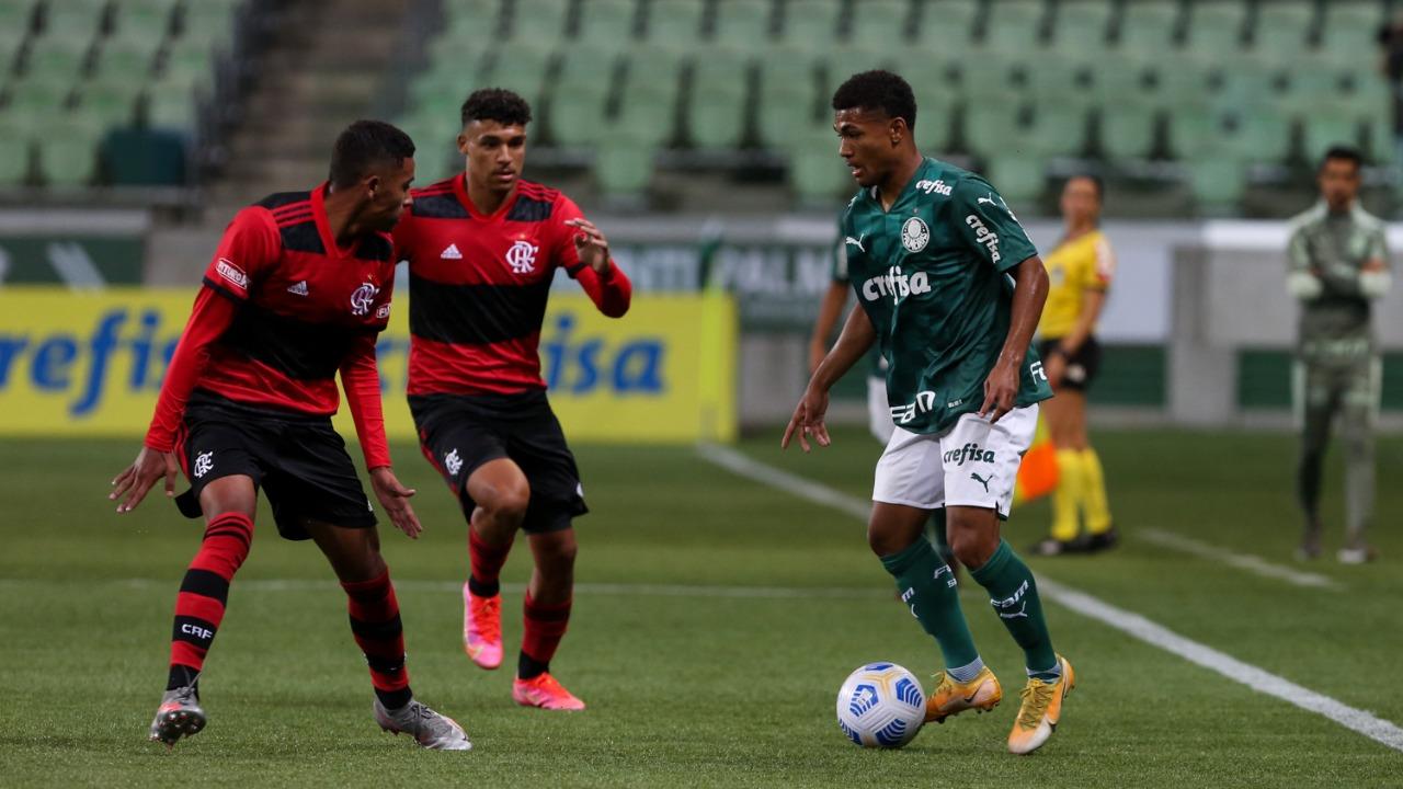Verdão perde do Flamengo na estreia do Campeonato Brasileiro Sub-17