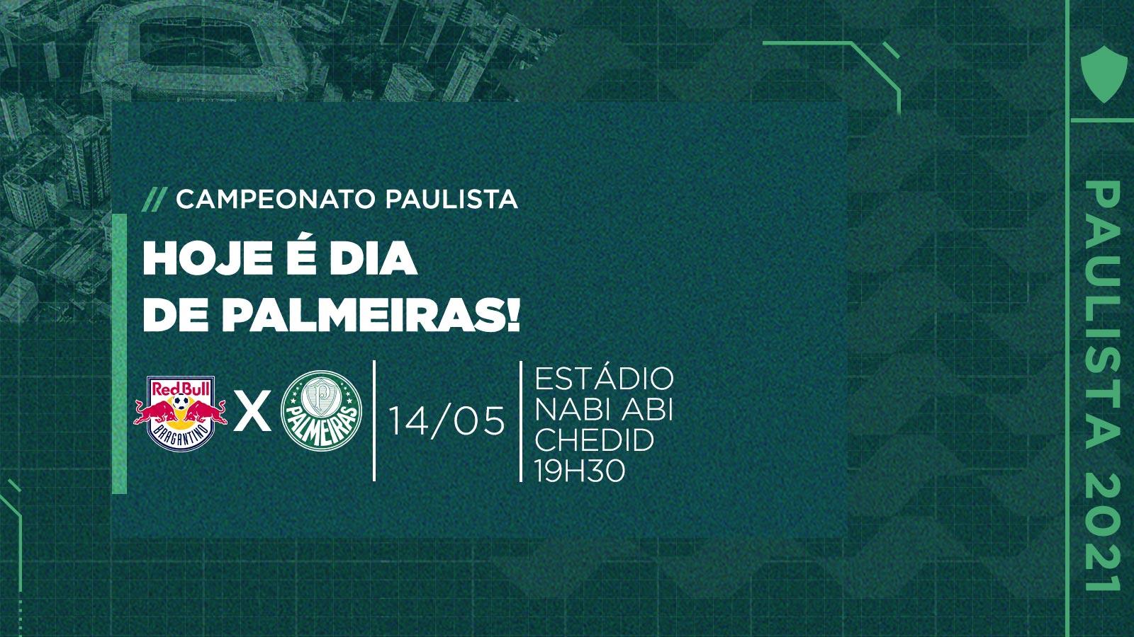 Red Bull Bragantino x Palmeiras: números, estatísticas e curiosidades da partida