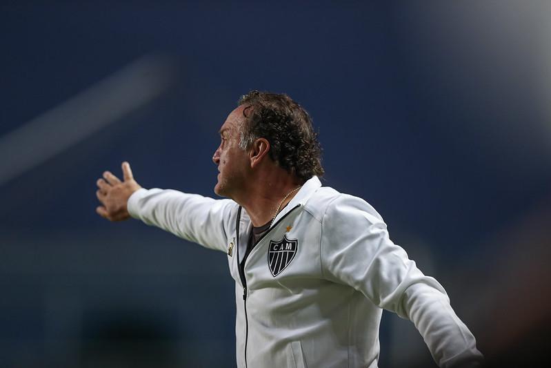 Cuca e Arana valorizam resultado do Atlético MG