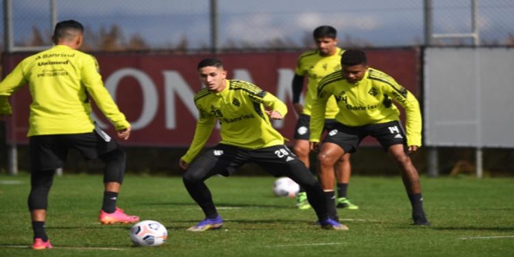 Inter inicia preparação para confronto com o Olimpia-PAR