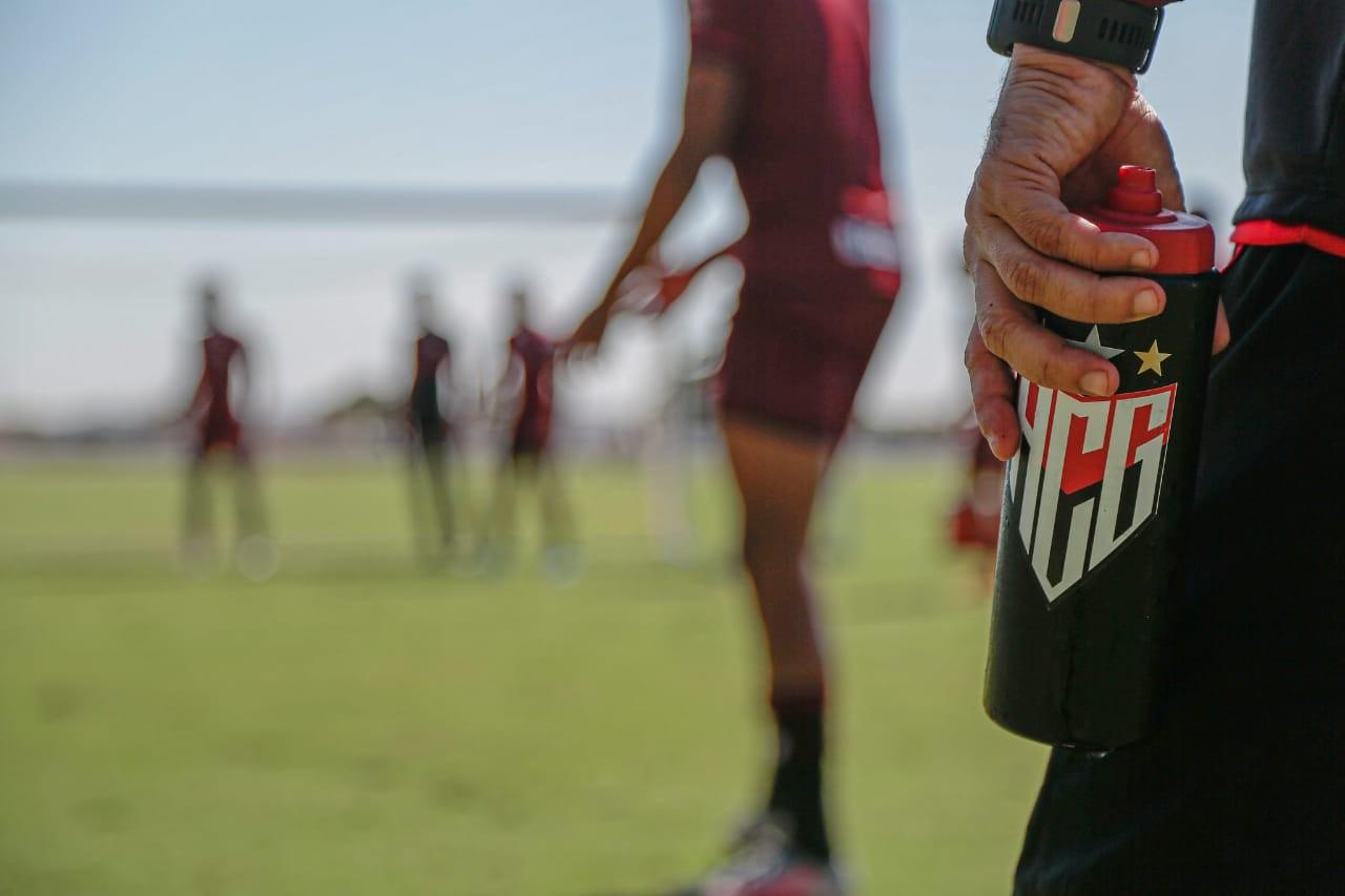 Preparação finalizada da equipe do Atlético GO para enfrentar o Libertad