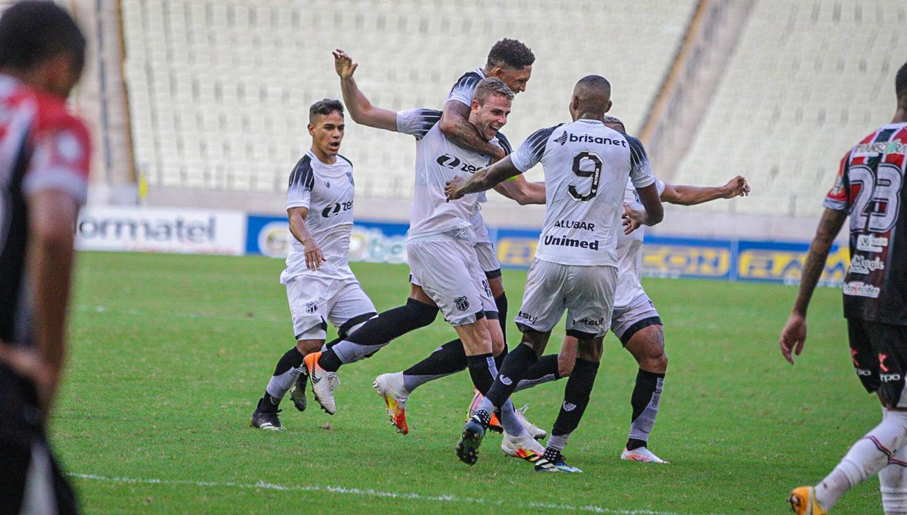 Com gols de Klaus e Saulo, Ceará goleia o Ferroviário e se garante na final do Estadual
