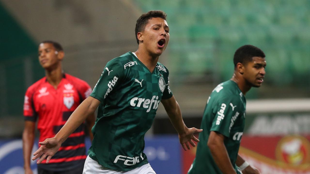 Palmeiras vence Atlético-GO no Brasileiro Sub-17