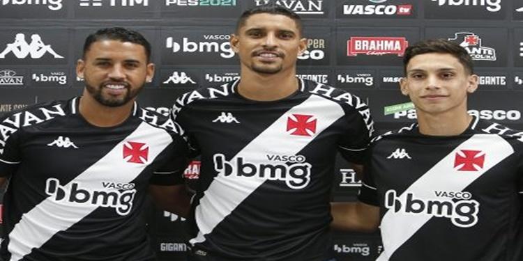 Vasco | Daniel Amorim, Michel e Sarrafiore são apresentados para a temporada de 2021