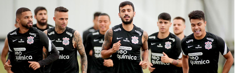 Timão encerra preparação para encarar Atlético-GO na estreia do Brasileirão