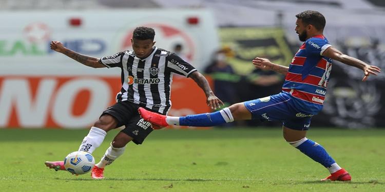 Fortaleza derrota o Atlético MG na primeira partida do Brasileirão