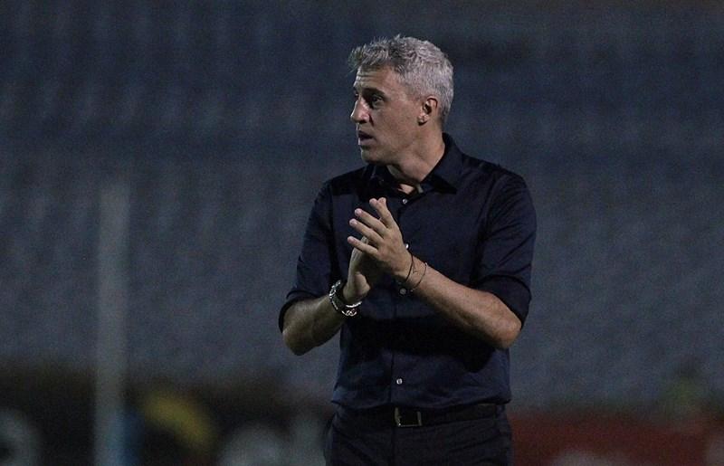 Técnico Crespo do São Paulo, fala sobre a derrota diante do 4 de julho do Piauí na Copa do Brasil