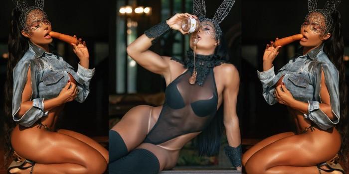 Gracyanne Barbosa é filmada durante o banho e mexe com a imaginação dos fãs