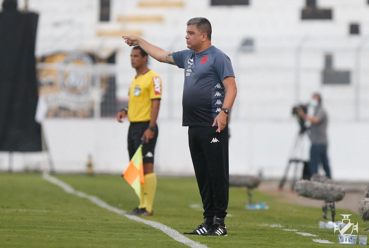 Marcelo Cabo avalia empate com a Ponte Preta no Moisés Lucarelli