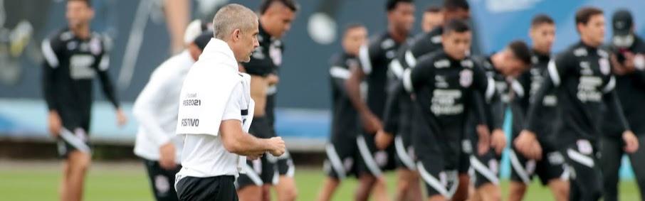 Timão encerra preparação para decisão contra Atlético-GO