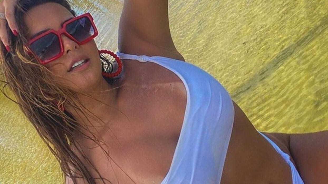 Geisy Arruda compartilha clique de férias no Ceará e mostra seu